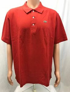 NWT-Lacoste-Men-039-s-Solid-Cotton-Casual-Golf-Polo-Shirt-size-4-9-color-varies