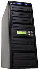 1-7 24X Burner CD DVD Disc Duplicator Multi Media Copier Standalone Tower
