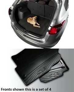 Mazda Cx 5 Cargo Tray With Mazda Cx 5 Set Of 4 All Weather Floor