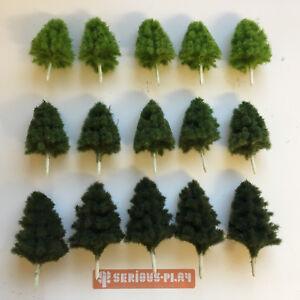 S-P-Basic-Plastic-Trees-B-Model-Scenery-Railway-Layouts-Wargames-Terrain-Crafts
