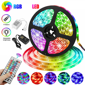 LED Light Strip RGB LED with Tape Lights FREE SHIPPING