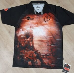 d0636f72bc2 Image is loading Army-Rugby-Union-2018-Tommy-Remembrance-Rugby-Shirt-