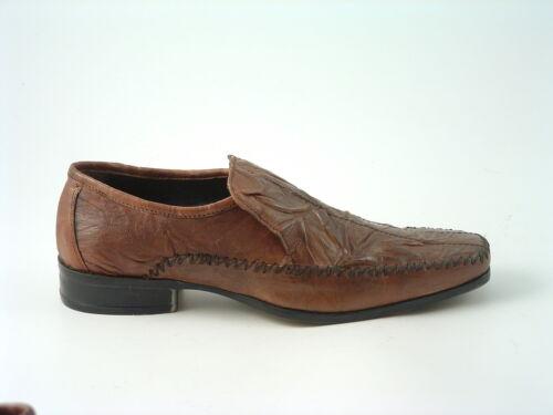 brunes en onglet Chaussures pour hommes cuir style décontracté à qwIn5zEnB