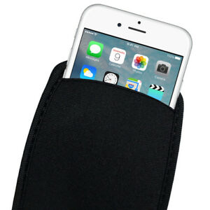 Elastic Neoprene Pouch Bag Sleeve Case For iphone XS MAX XR X 8 7 6S ... 4f4a639461bca