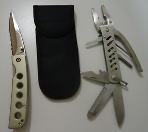 MAXAM 'PLIERS PLUS' MULTI TOOL - *PLUS* FOLDING LINER LOCK POCKET KNIFE