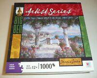 Tuscan Serenade Dennis Lewan 1000 Piece Jigsaw Puzzle Artist Series Sealed