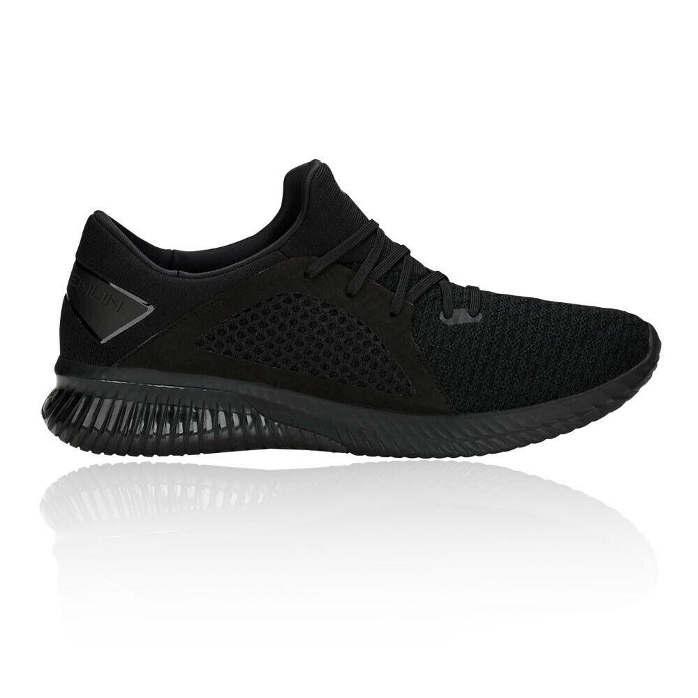 Asics mannens Gel-Kenun Knit MX hardlopen schoenen Trainers sportschoenen zwart Sports