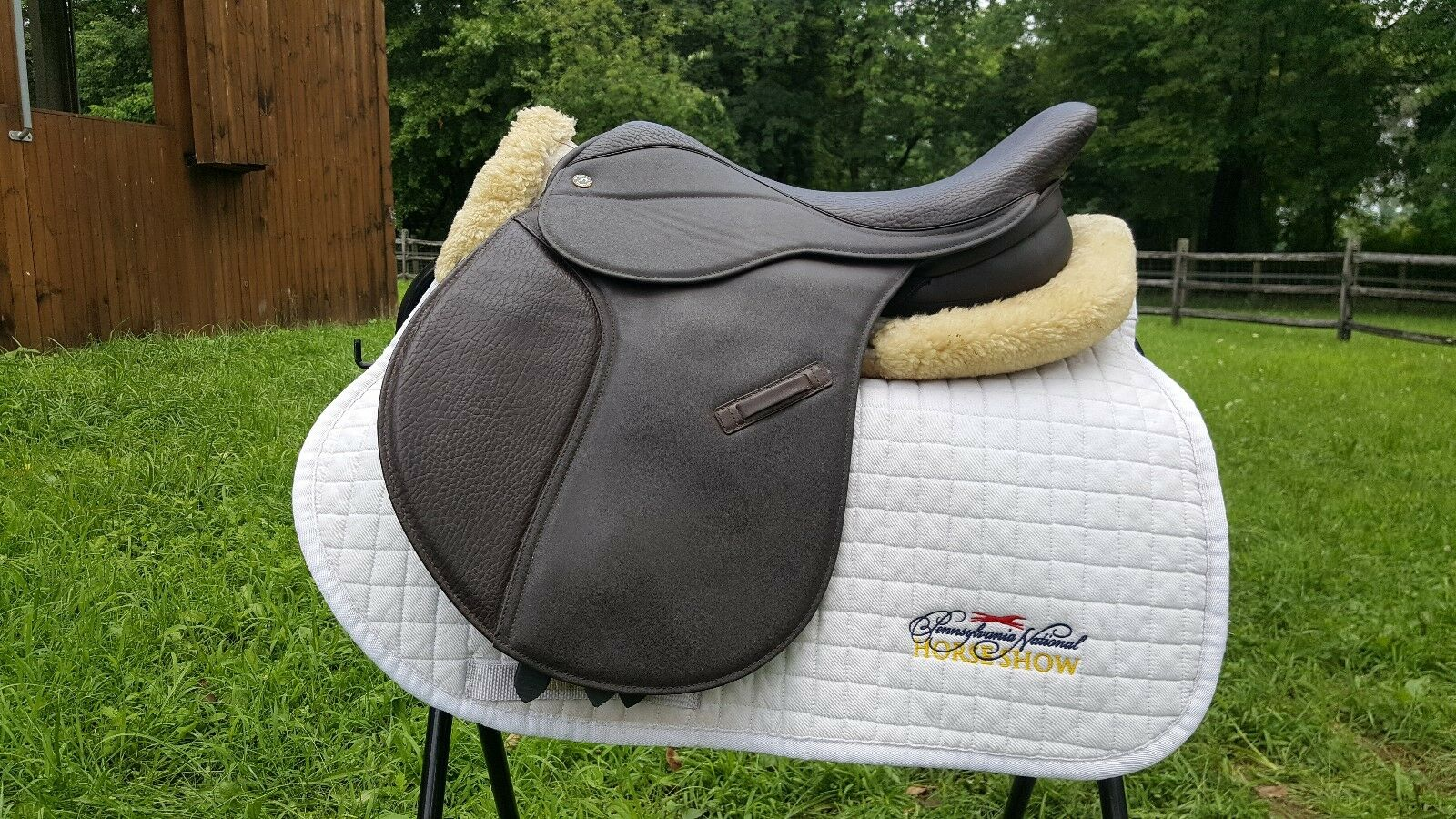 Dover ProRide Saddle 16.5  - braun - Synthetic - Never Used - M to MW tree