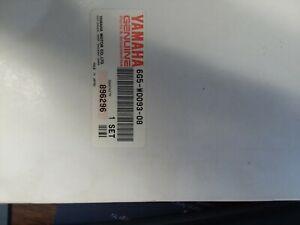 "GENUINE YAMAHA 6G5-W0093-08-00 OUTBOARD CARB REPAIR KIT NIB/NOS 3 CARB KIT ""NLA"""