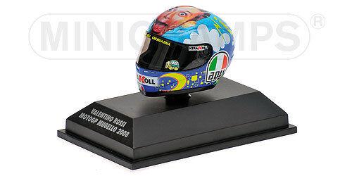 1 8 AGV Minichamps Valentino Rossi Helmet Casco MotoGP Mugello 2008 VERY RARE