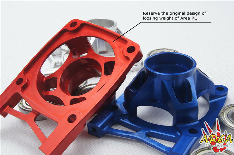 Area RC Alloy mid/rear Differential housing diff case mount for LOSI 5IVE-T LT