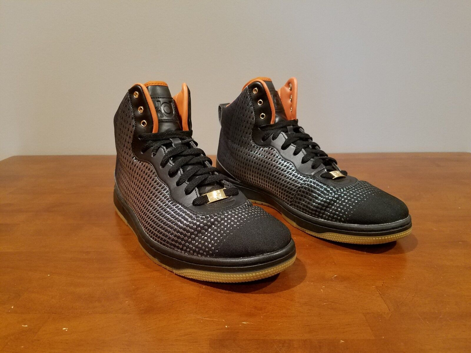 Nike KD VIII NSW Lifestyle Blk/MTLCGold Price reduction Men's Sz 11 Price reduction