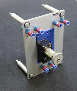 FESTO-DIDACTIC-Steckplatte-011706-mit-Ventil-VD-3-PK-3-gebraucht