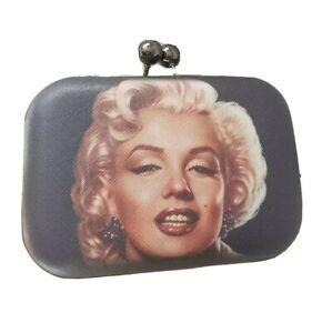 Marilyn monroe handbags clutch purse hard Shell