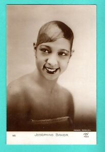 MOVIE-STAR-JOSEPHINE-BAKER-66-VINTAGE-PHOTO-PC-PUBLISHER-FRANCE-765