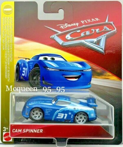 DISNEY PIXAR CARS CAM SPINNER TRIPLE DENT NEXT-GEN PISTON CUP RACERS 2019