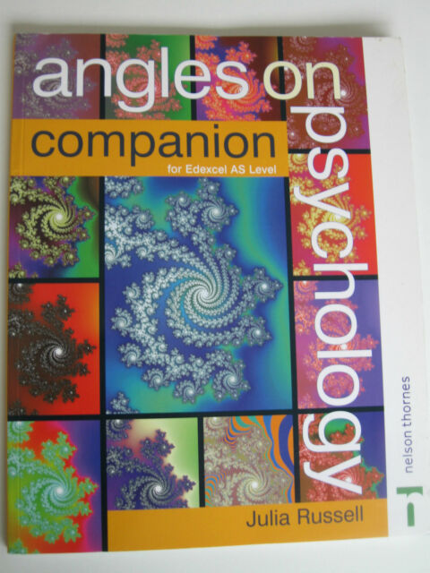 Angles on Psychology Companion for AS Edexcel by Julia Russell / Nelson Thornes