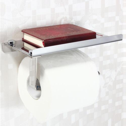 Salle de bain rouleau de papier porte-téléphone mural de rangement de toilette