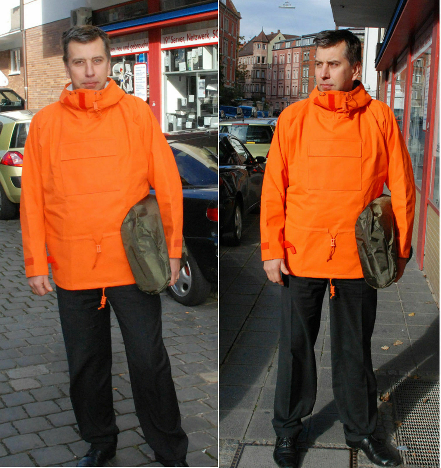 Abc Old Type with Hood New all Weather Jagdsport Fishing Protection G.54-56 XL#
