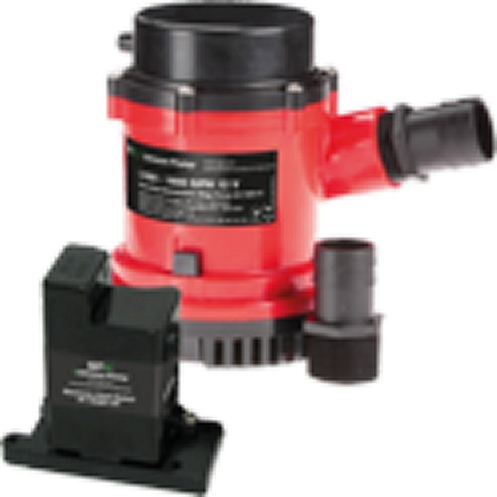 Johnson HD Bilge Pump 1600 GPH, w/EM w/EM w/EM Switch, 12V 0780ed