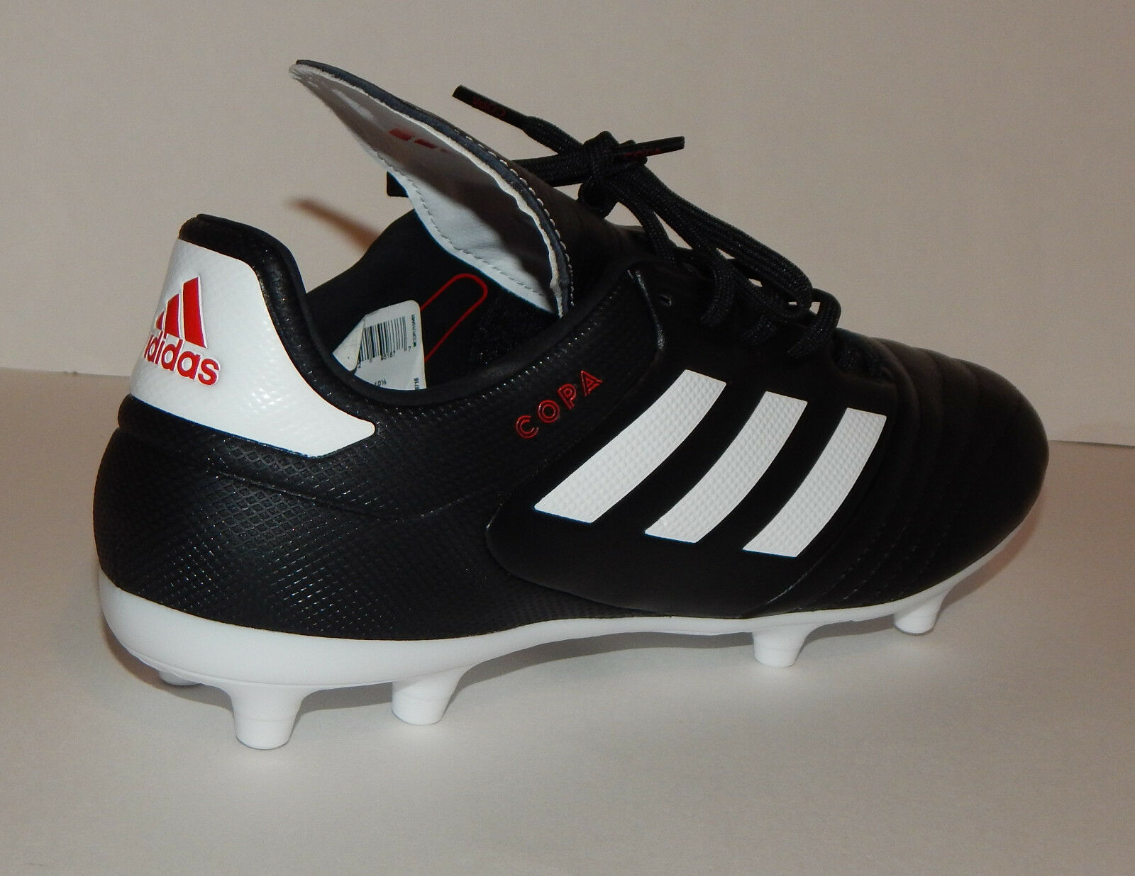 Adidas Men's COPA 17.3 FG Soccer Shoe Cleat NEW Black/White BA9716 Several Comfortable Brand discount