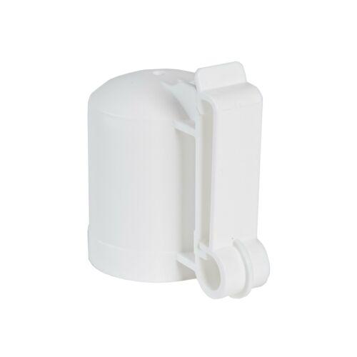 10 per Bag Оnе Расk White Zareba ITCPW-Z T-Post Safety Cap and Insulator