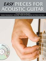 Easy Pieces For Acoustic Guitar - Book And Cd 014009878