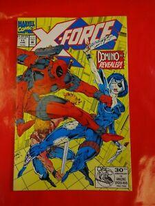 X-force-11-1st-full-app-domino-comics-Marvel-Comic-book-90s