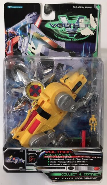 Voltron Third 3rd Dimension Yellow Lion 12