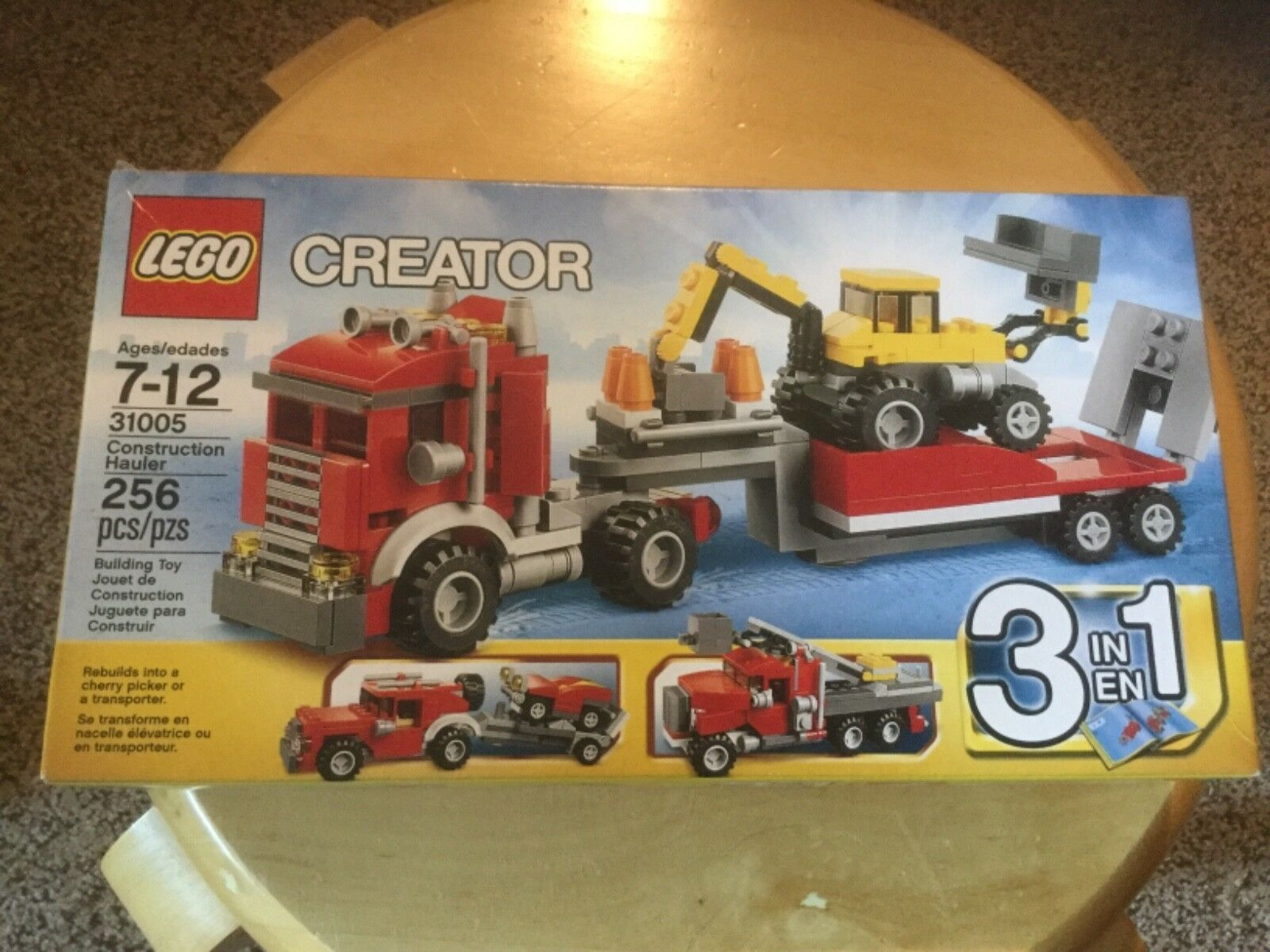 Neuf dans sa boîte LEGO Creator Construction Hauler (31005)