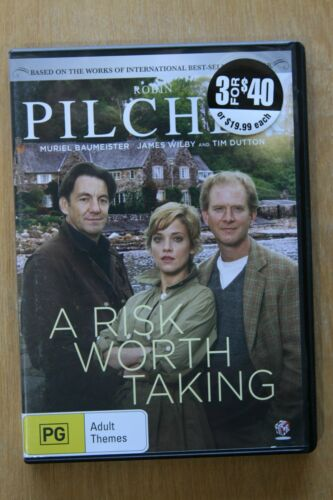 1 of 1 - A Robin Pilcher's - Risk Worth Taking (DVD, 2015) Preowned  (D200)