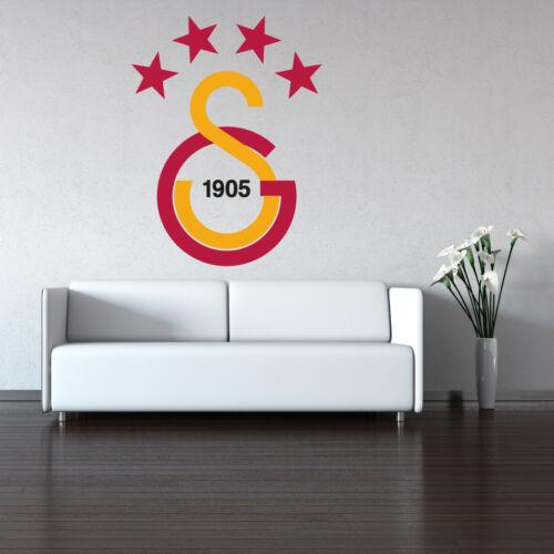 Wandtattoo Galatasaray 4 Yildizli Süper kalite 60cm x 80cm Duvar Yapiskani