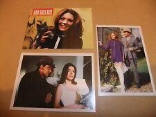 THE AVENGERS DIANA RIGG TV CORNERSTONE PROMO 3 CARD SET EMMA PEEL PATRICK MacNEE