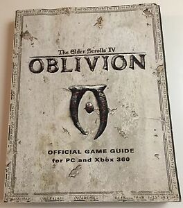 the elder scrolls iv oblivion official game guide pc xbox 360 rh ebay com Oblivion Xbox 360 Secrets Oblivion Xbox 360 Secrets
