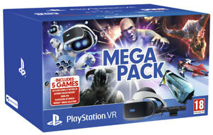 PlayStation VR (PSVR) Mega Pack - Includes Astro Bot, Doom, WipeOut,