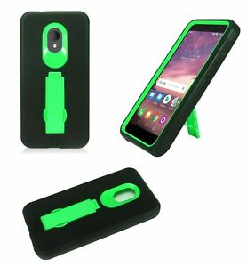Details about For Alcatel 1X Evolve IdealXTRA 5059R TCL LX A502DL Rugged  Phone Case with Stand