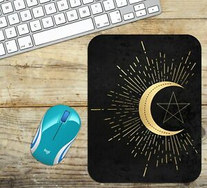 Crescent-Moon-with-Star-Mouse-Pad-Easy-Glide-Non-Slip-Tough-Neoprene