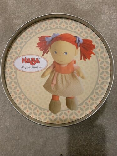 Haba Soft baby doll PUPPE Mirle 5737 nouveau