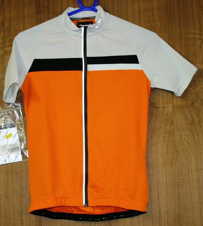 CAMPAGNOLO LADIES TECH REP S S CYCLING JERSEY SMALL FULL ZIP UK P&P FREE