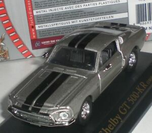 ROAD-SIGNATURE-SHELBY-GT-500-KR-1968-COLLECTORS-EDITION-DIECAST-1-43-NEW-OVP