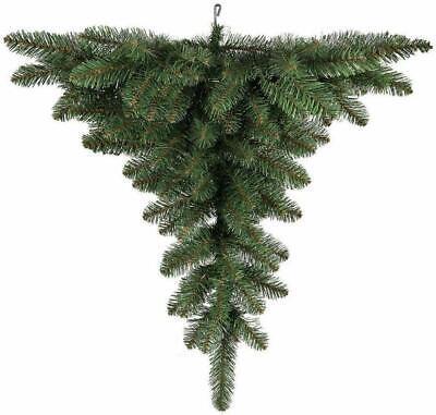 Albero Di Natale Capovolto.Albero Di Natale Capovolto 120 Cm Upside Down Da Appendere Al Soffitto Cn Gancio Ebay