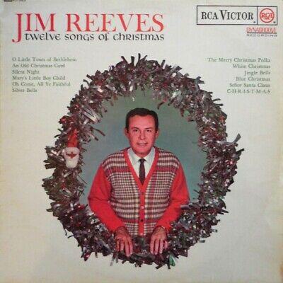 Jim Reeves - Twelve Songs Of Christmas (LP, Album, Mono) | eBay