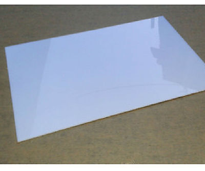 Raw Materials / 1pcs White Acrylic PMMA Panel Plate 300mm300mm3mm #E08-J GY
