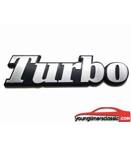 Monogramme-TURBO-pour-RENAULT-5-ALPINE-R9-R11-R18