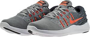 bc371ce5a1ad Image is loading Women-039-s-Nike-Lunarstelos-Black-Metallic-Silver-