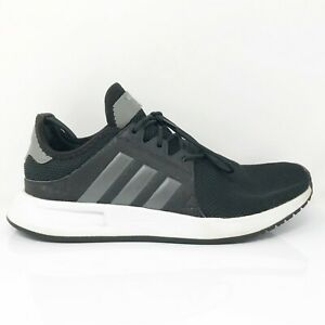 Adidas-Mens-X-PLR-LHG-029003-Black-Running-Shoes-Lace-Up-Low-Top-Size-6