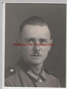 F3838-Orig-Foto-Wehrmacht-Soldat-Portrat-Frankreich-1939
