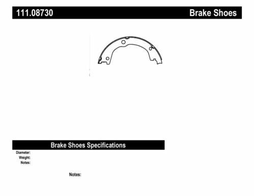 Parking Brake Shoe-Premium Brake Shoes-Preferred Rear Centric 111.08730