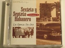 Sexteto Y Septeto Habanero La Epoca De Oro Vol. 1 & Vol. 2 2 Cd's