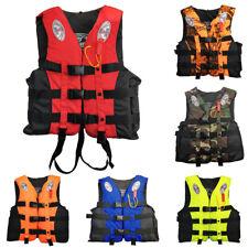 Adult Kids Life Jacket Kayak Ski Buoyancy Aid Vest Sailing Fishing Sport CHY